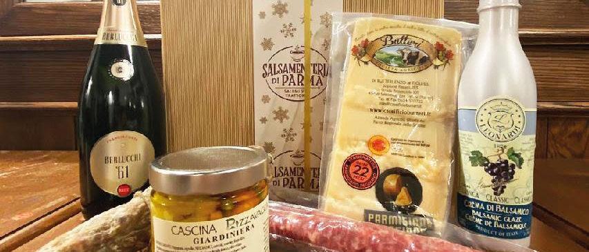 Pacchi di Natale Salsamenteria di Parma